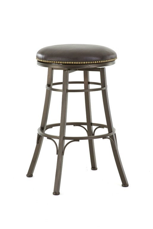 Steve Silver Bali Backless Swivel Bar Stool - Perfect Home Bars