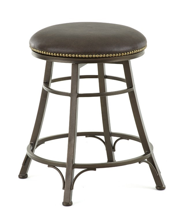 Steve Silver Bali Backless Swivel Counter Stool - Perfect Home Bars