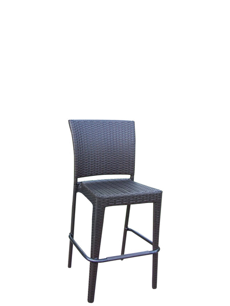 Oakland Living Elite Resin Wicker Bar Stools Set Of 2