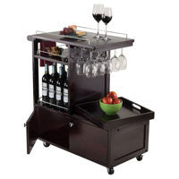 Winsome Galen Entertainment Cart - Perfect Home Bars