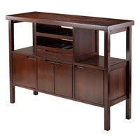 Winsome Diego Buffet / Sideboard Table / Wine Storage - Perfect Home Bars