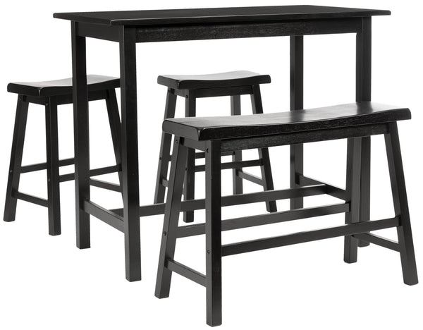 Safavieh Transitional Ronin 4 Pc Set Pub Table - Perfect Home Bars