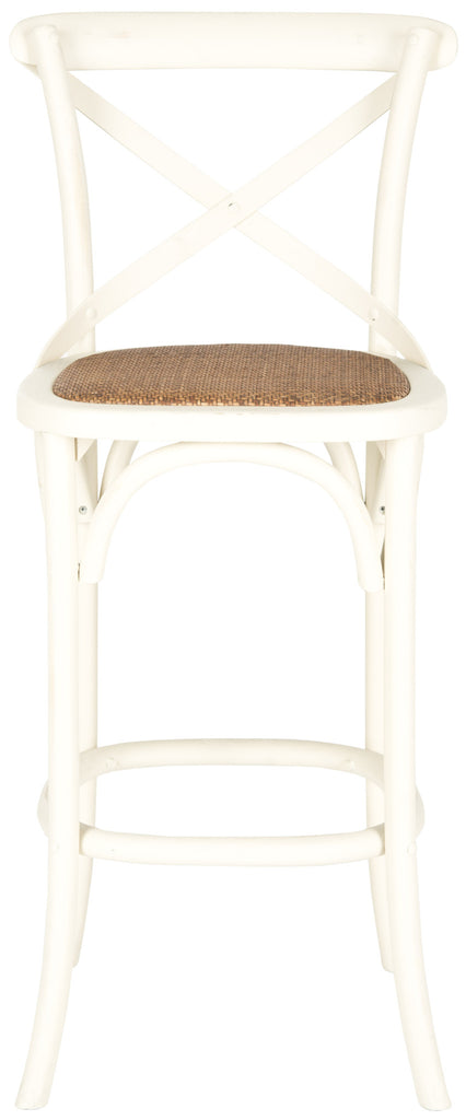 Safavieh Franklin Iconic X-Back Bar Stool - Perfect Home Bars