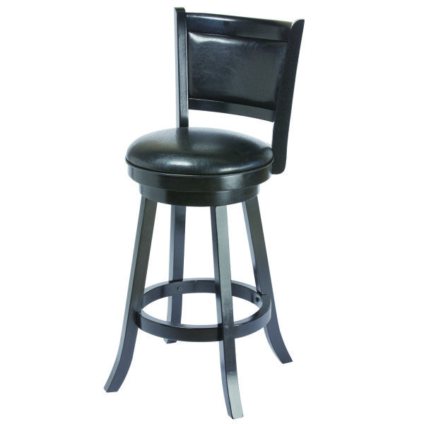 "RAM Game Room 30"" Swivel Bar Stool w/Back - Perfect Home Bars"