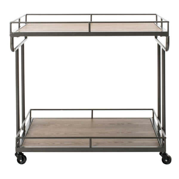 Safavieh Dawson 2 Tier Rectangle Bar Cart