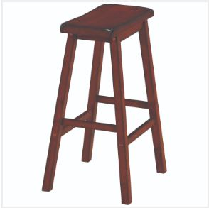 RAM Game Room Backless Saddle Barstool
