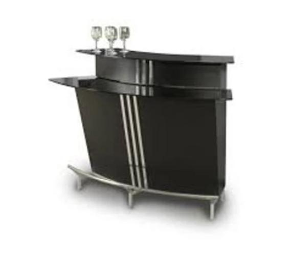 Chintaly Imports Broadway Black Bar - Perfect Home Bars