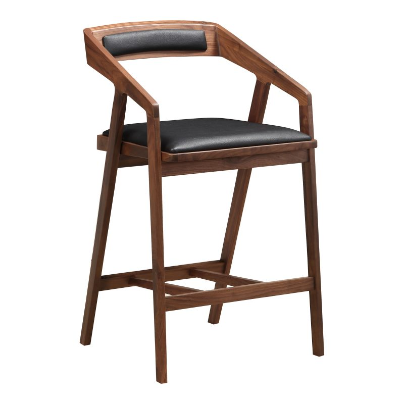 Perfect Home Bars Parker Bar Stool - Black - Available in Bar or Counter Height