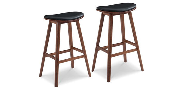 "Greenington Corona Counter Height Stool 26"" - Exotic - Set of 2 - Perfect Home Bars"
