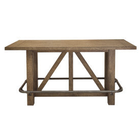 Pulaski Furniture Lt Bar Oak Table Front View