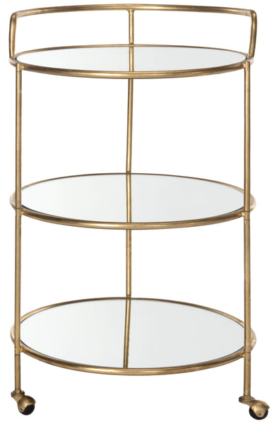 Safavieh Dulcinea Elegant Bar Cart - Perfect Home Bars