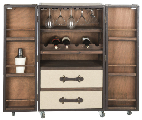 Safavieh Lexington Bar Cabinet - Perfect Home Bars