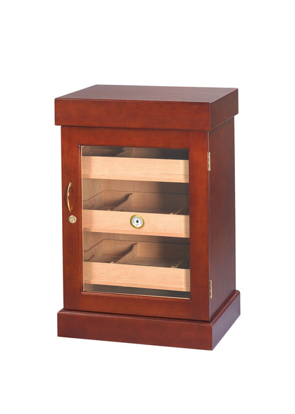 1000 CT Mini -Tower Cabinet Spanish Cedar Finish - Front View
