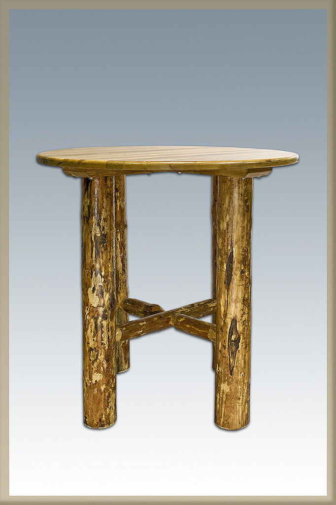 Montana Woodworks Glacier Country Collection Wood Bistro Table