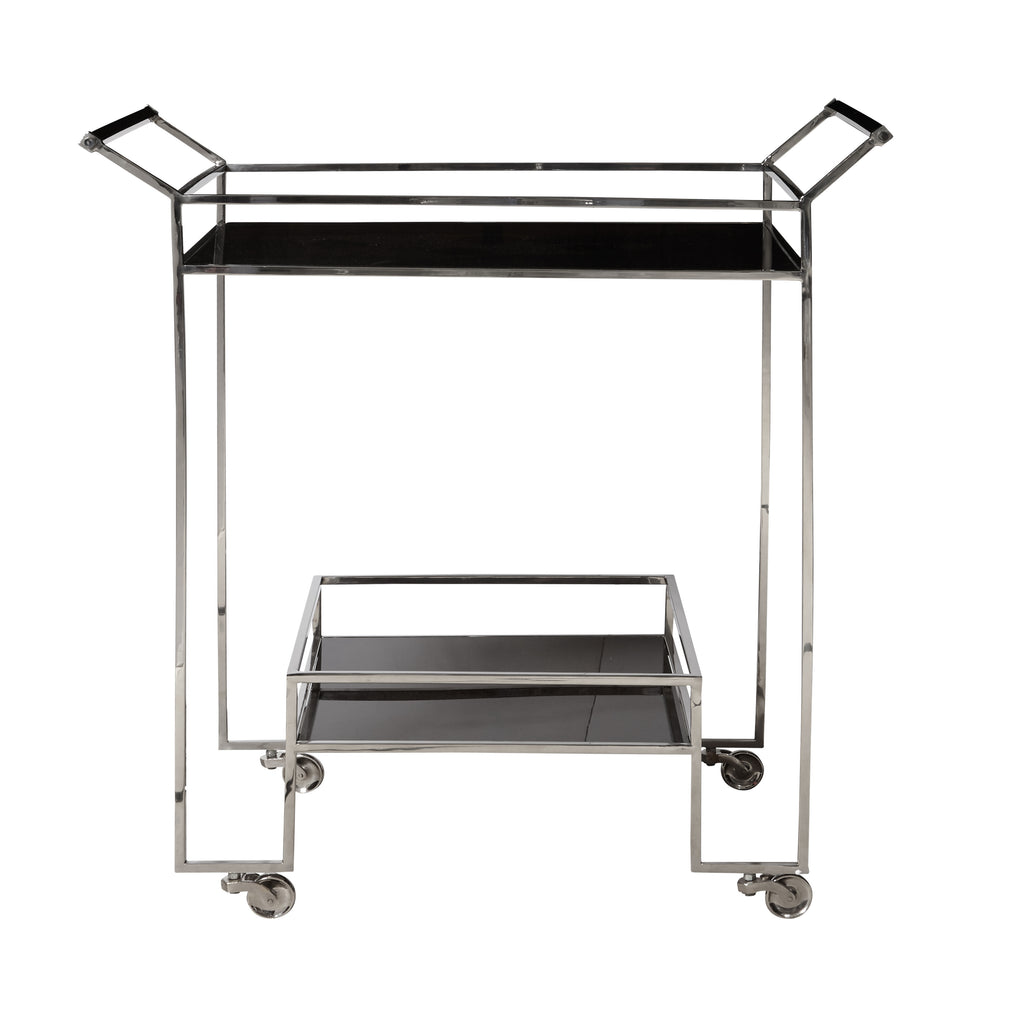 Bar Cart Front and side View