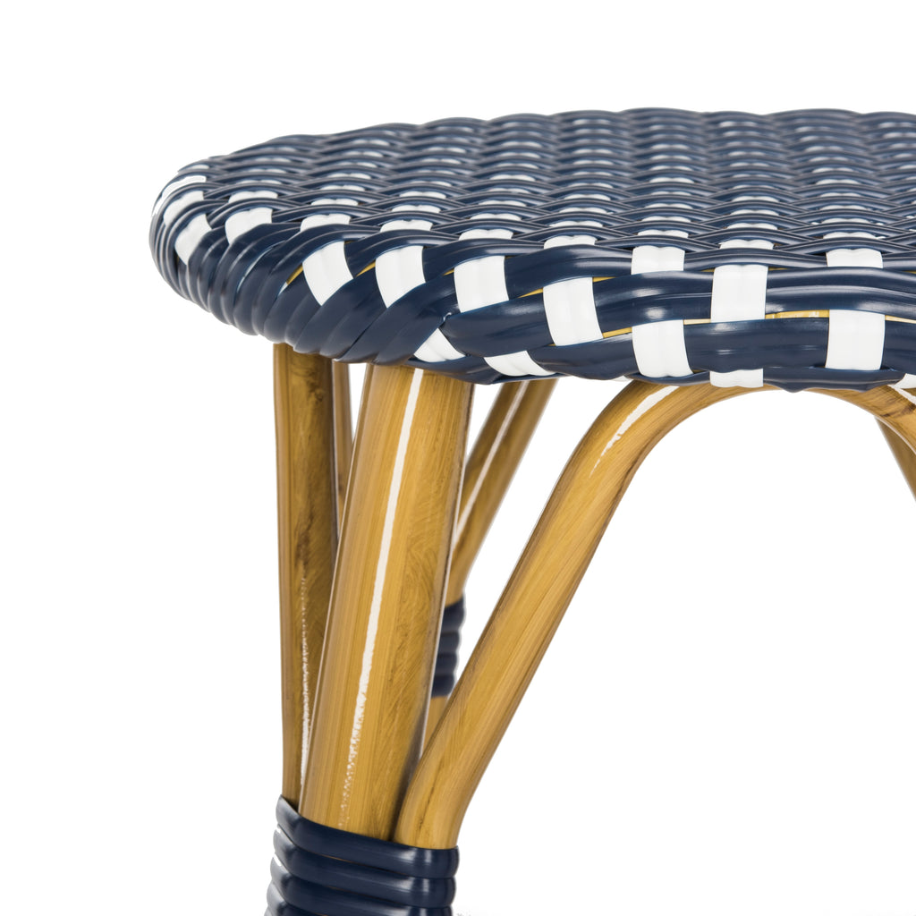 Kelsey Indoor-Outdoor Bar Stool Detail Seat View