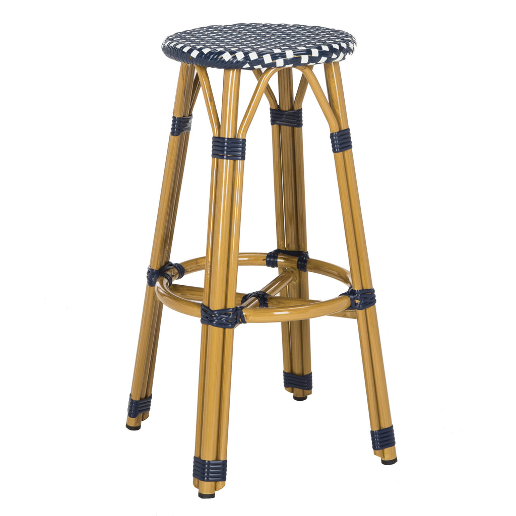 Kelsey Indoor-Outdoor Bar Stool Front Corner View