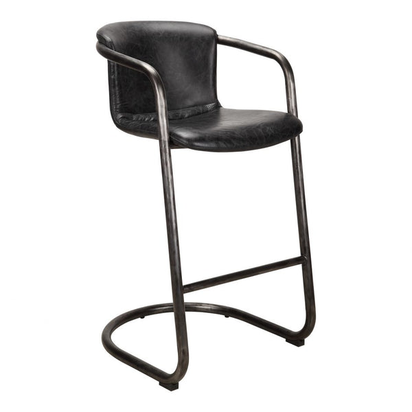 Perfect Home Bars Meyers Bar Stool (Set of 2) - Available in Antique Black or Light Brown