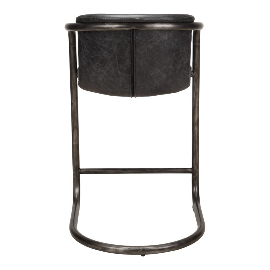 Perfect Home Bars Meyers Counter Stool (Set of 2) - Available in Antique Black or Light Brown