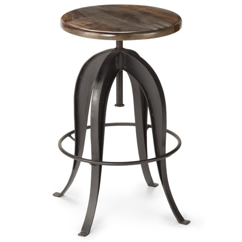 Steve Silver Sparrow Round Bar Stool