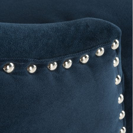 Eleni Tufted Wing Back Back Bar Stool Detail View