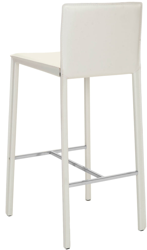 "Safavieh Jason 30"" Bar Stool (Set of 2) - Available in White, Black or Red"