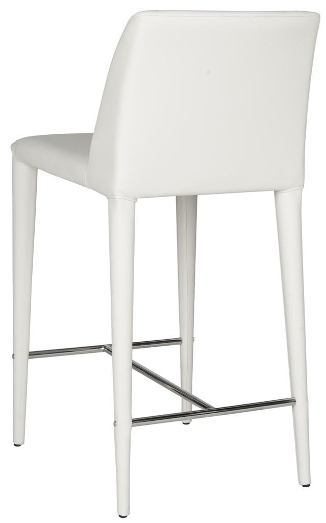 Garretson Counter Stool (Set of Two) White Back View