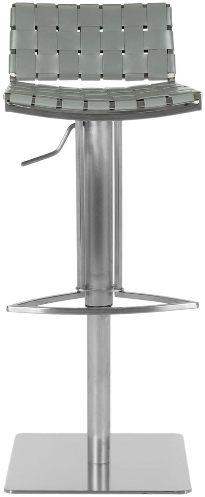 Safavieh Mitchell Gas Lift Swivel Bar Stool - Available White, Black, Brown or Gray