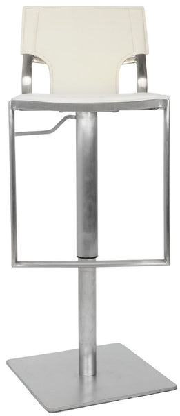 Safavieh Armondo Gas Lift Swivel Bar Stool - Available in White or Black