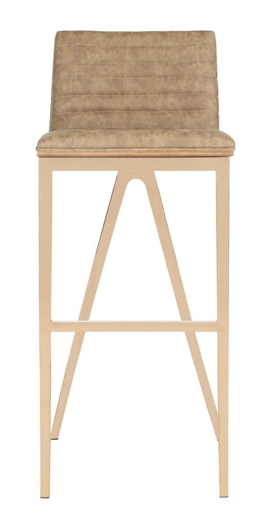Safavieh McKay Bar Stool - Available in Dark Green or Brown
