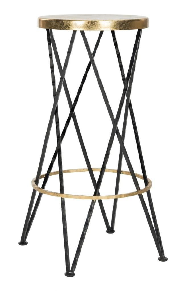 Safavieh Hester Bar Stool - Available in Black or White