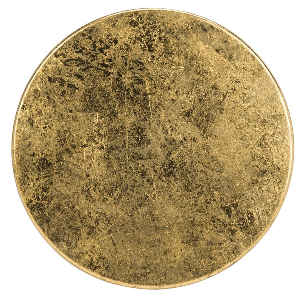 Lorna Gold Leaf Counter Stool Top View