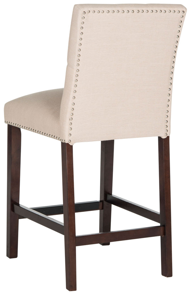 Norah Counter Stool (Set of 2) Beige Back View