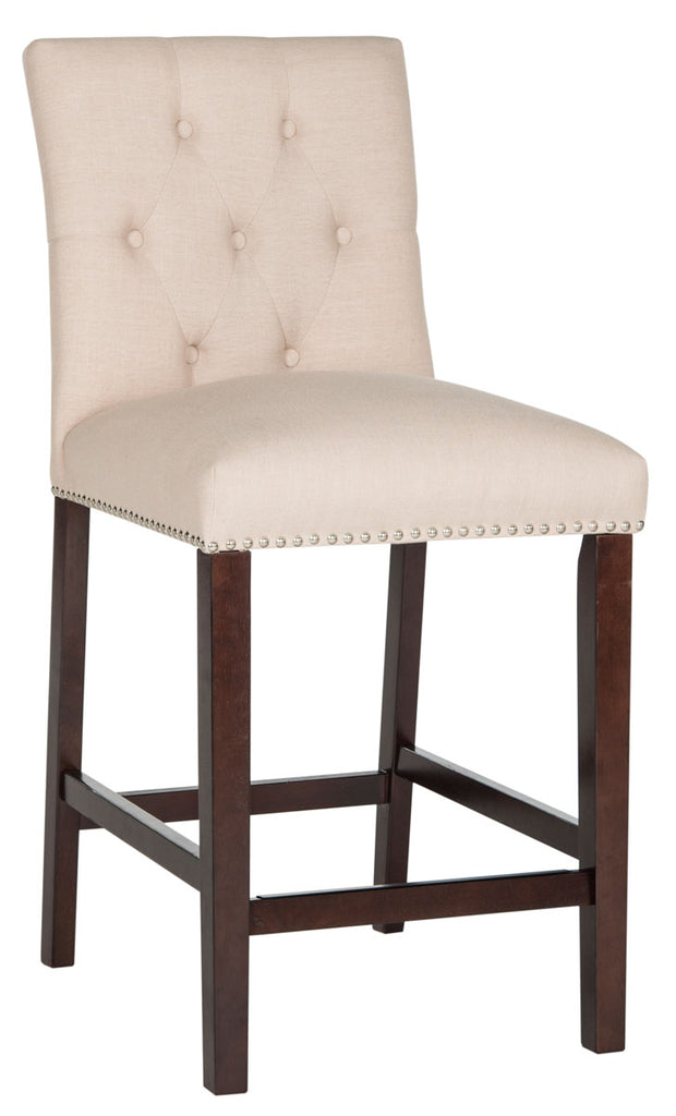 Norah Counter Stool (Set of 2) Beige Side View