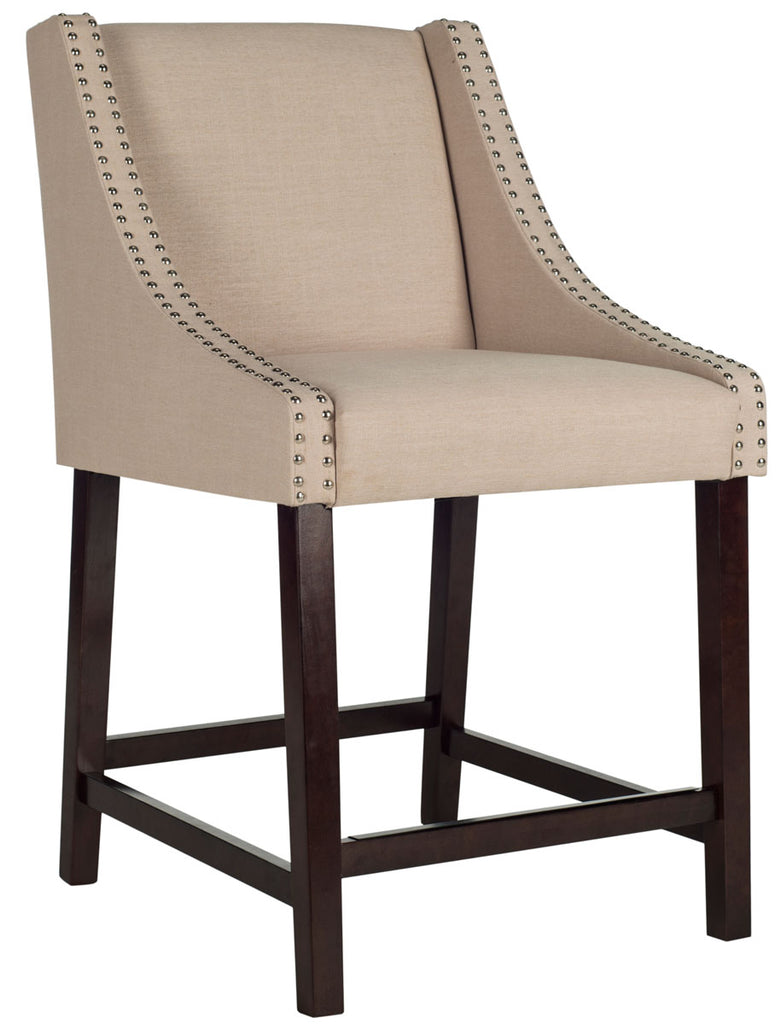 Awesome Safavieh Dylan Counter Stool Available In Beige Taupe Navy Light Gray Or Brown Ncnpc Chair Design For Home Ncnpcorg