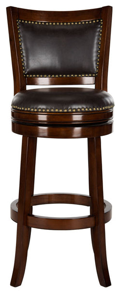 Safavieh Lazzaro Swivel Bar Stool Lifestyle View