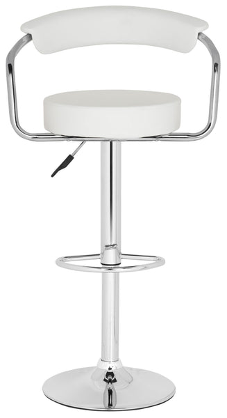 Safavieh Angus Swivel Bar Stool - Available in White or Black