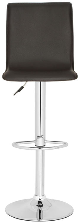 Magda Swivel Bar Stool Brown Front View
