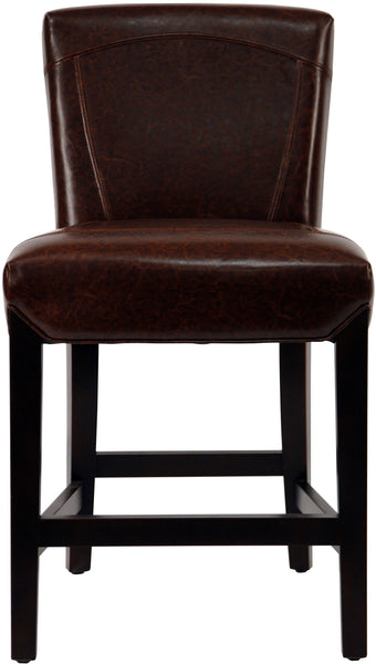 Ken Counter Stool  Brown Front View