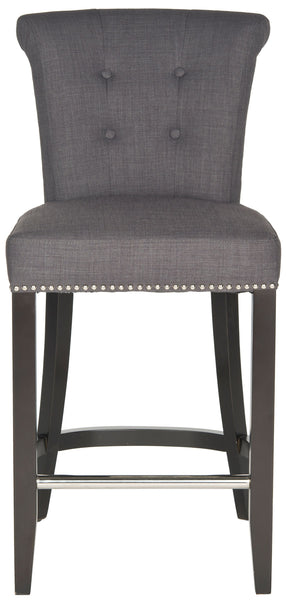 Safavieh Addo Ring Counter Stool - Available in Charcoal, Biscuit Beige, Sky Blue or Flat Cream