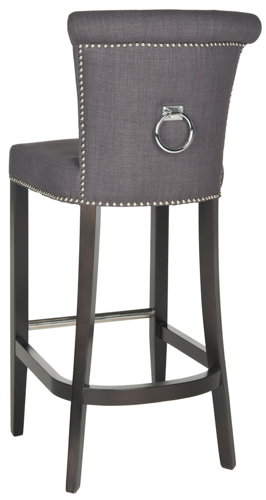 Addo Ring Bar Stool Charcoal Back View