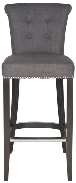 Safavieh Addo Ring Bar Stool - Available in Charcoal, Biscuit Beige, Sky Blue or Flat Cream