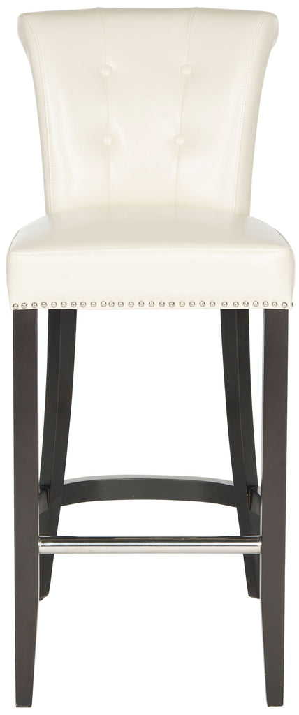 Addo Ring Bar Stool Flat Cream Front View