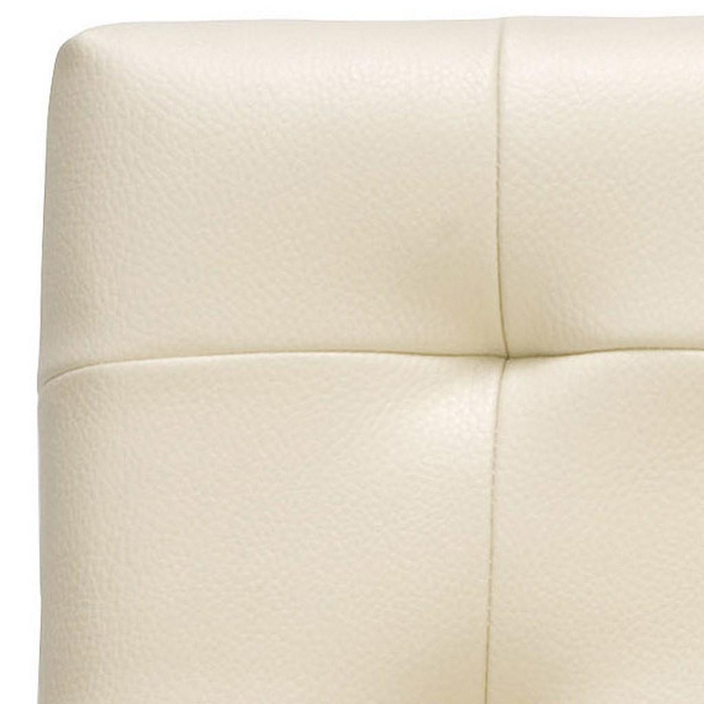 Thompson Leather Counter Stool Seat Back Detail