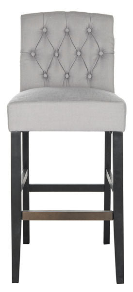 Safavieh Maisie Tufted Bar Stool - Available in Gray