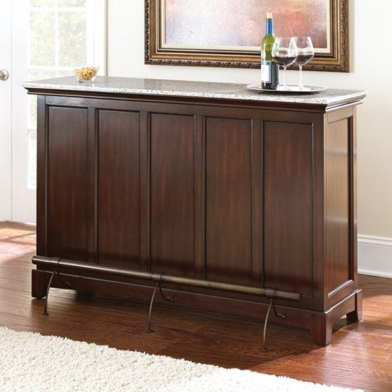 Steve Silver Newbury Bar Front View - Perfect Home Bars