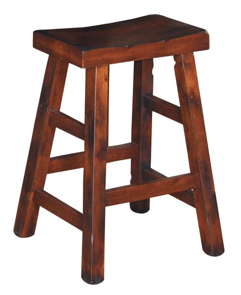Sunny Designs Santa Fe Saddle Seat Stool