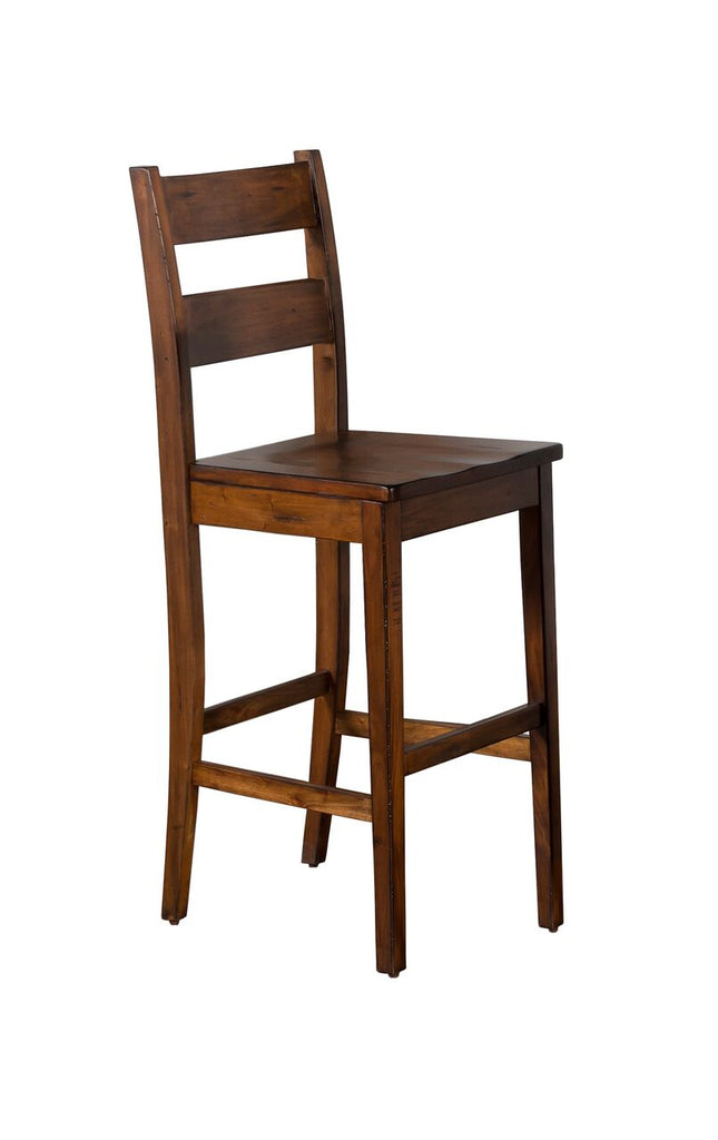 "Sunny Designs Tuscany Ladder-back Bar Stool- 30"" Seat Height"