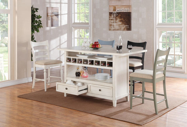 ECI Furniture Antique White Island