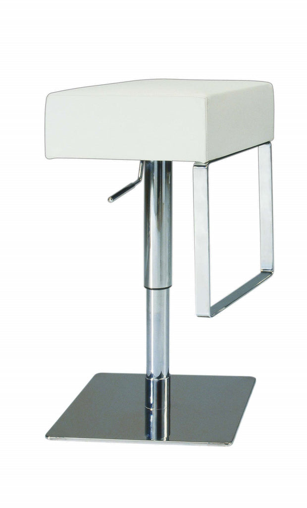 Chintaly Imports Pneumatic Gas Lift Adjustable Height Swivel Stool